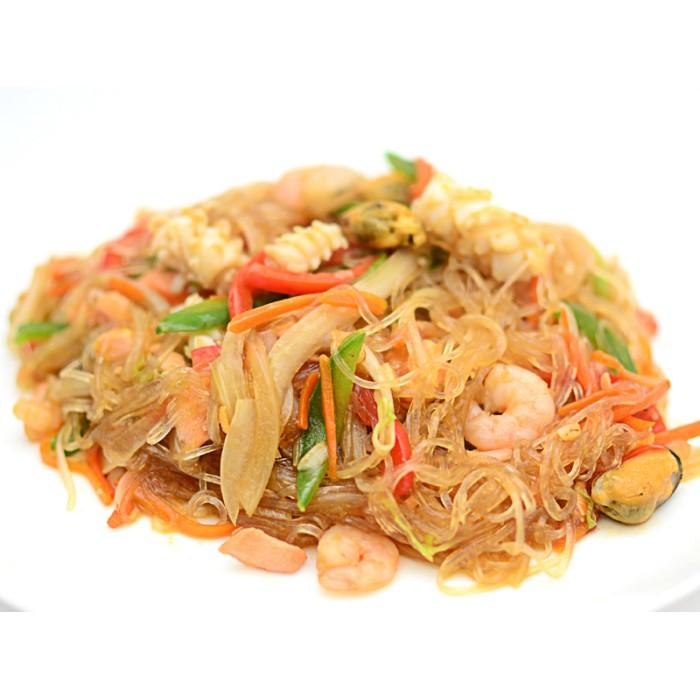 Рисовая лапша с морепродуктами