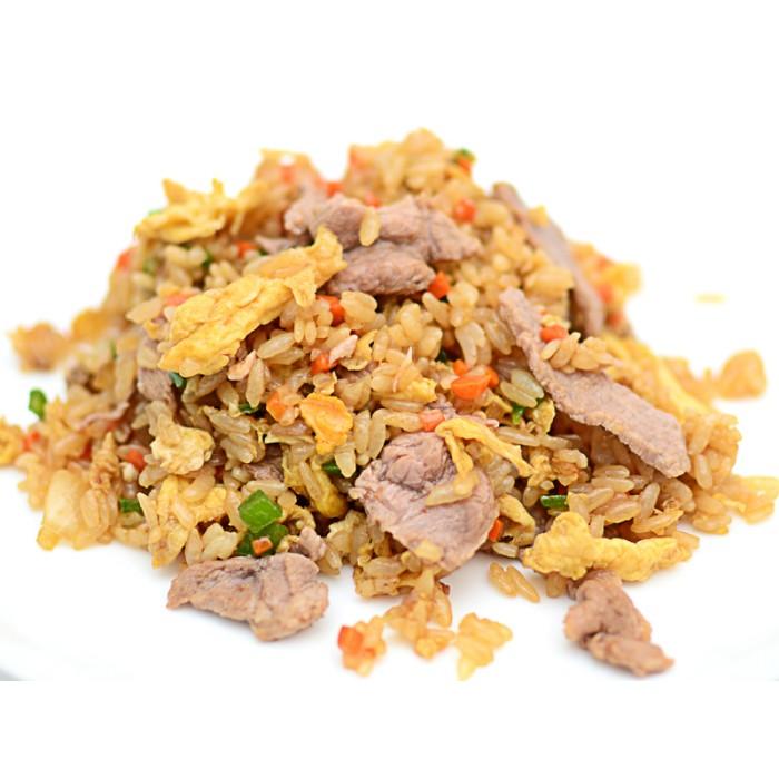 Рис со свининой